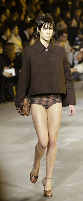 Giacca su shorts Marc Jacobs