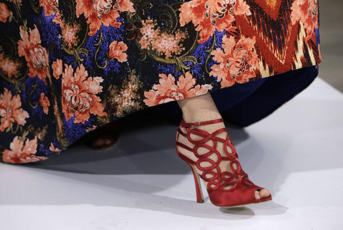 Dettaglio sandali  Oscar de La Renta