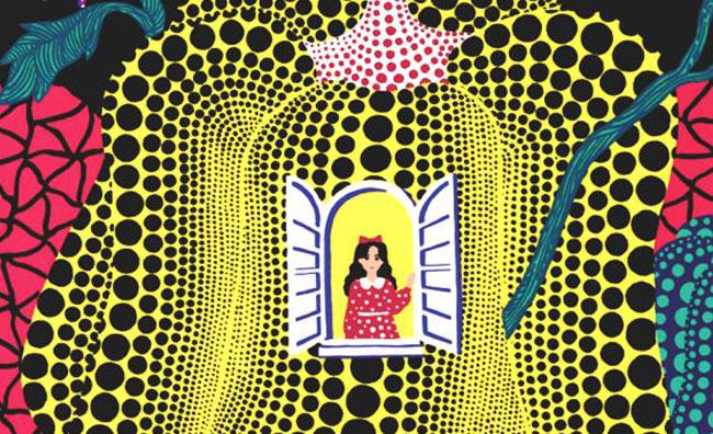 Yayoi Kusama Alice Paese delle Meraviglie