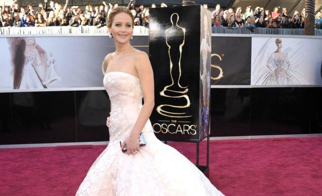 Jennifer Lawrence abito dior haute couture