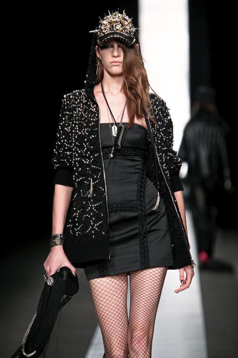 Minidress e cappotto Frankie Morello