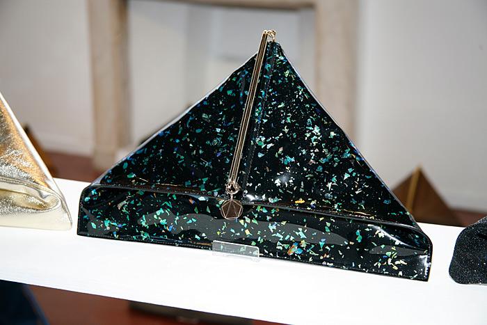 Teorema, le borse a triangolo di Rainer