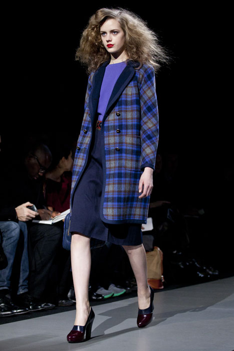 Cappotto tweed Marc by Marc Jacobs