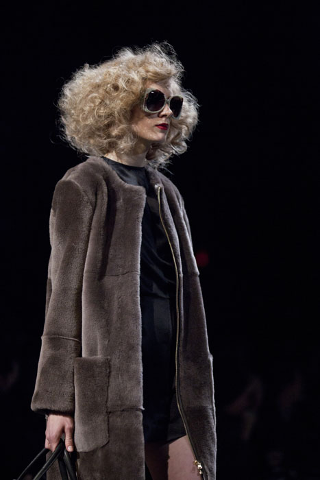 Cappotto in pelliccia Marc by Marc Jacobs