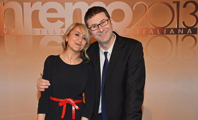 Festival di Sanremo 2013 Fabio Fazio Luciana Littizzetto