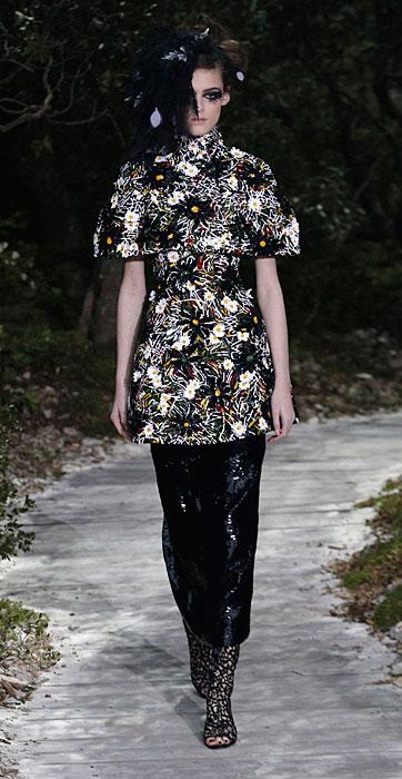 Top floreale Chanel Haute Couture