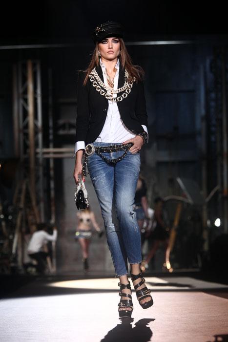 Jeans delavè Dsquared2