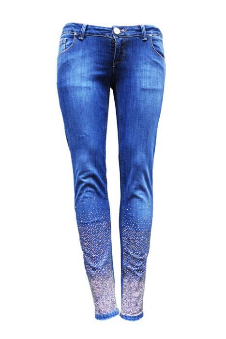 Jeans con cristalli Seduzioni Jeans by Valeria Marini