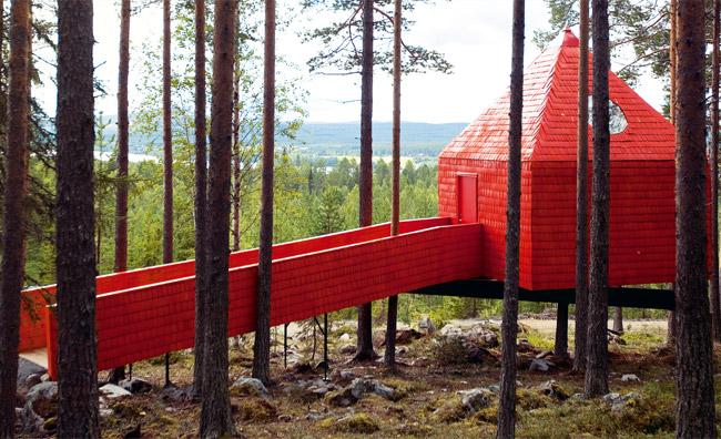 Sandell Sandberg Norrbotten Tree Hotel