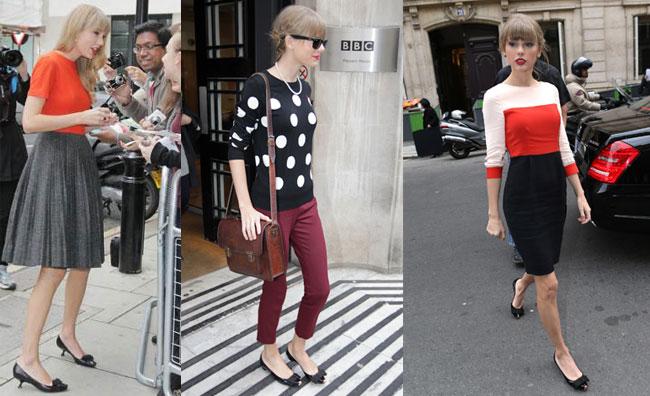 Il tacco 5 di Taylor Swift