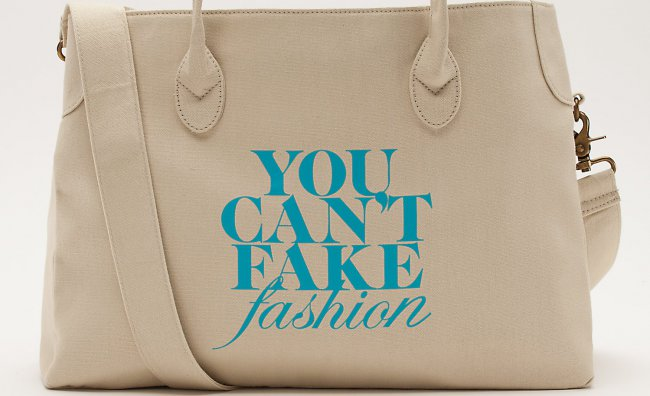 You can't fake fashion