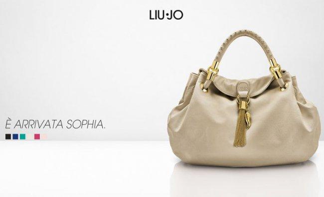 E'arrivata Sophia, la it bag di Liu Jo