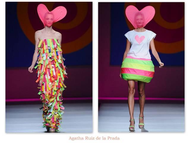Agatha Ruiz de la Prada festeggia le donne
