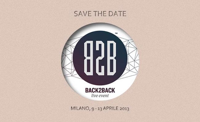 Back2Back, le arti si incontrano a Milano