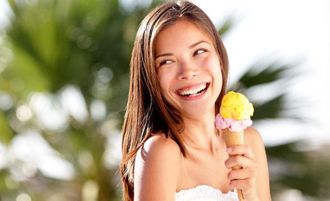 Il gelato, un dolce senza peccato