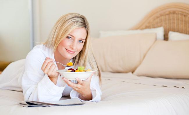 Il cibo nemico del riposo
