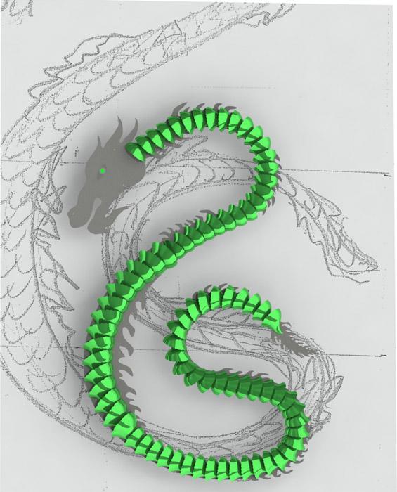 Dragon di Patrizia Volpato