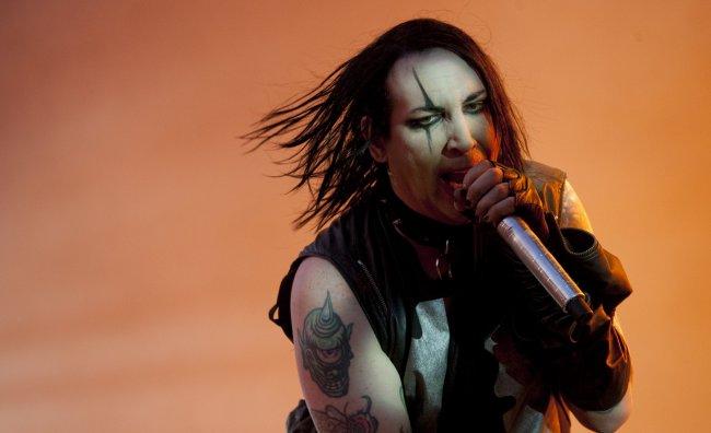 Marilyn Manson per Saint Laurent
