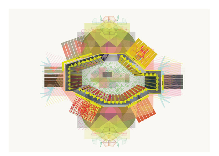 The revolving room di Patricia Urquiola