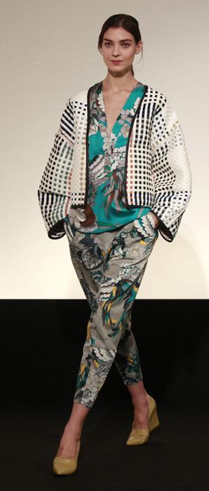 Pantaloni e blusa Hermés