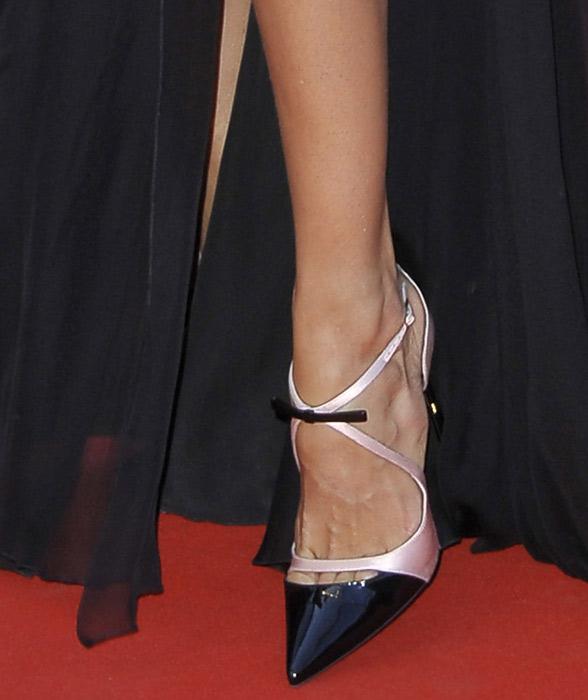 piedi red carpet cannes