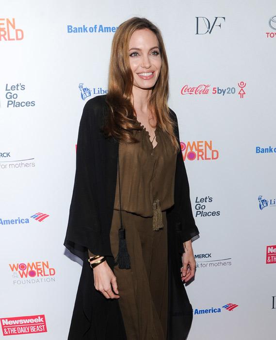 Angelina Jolie contro il cancro