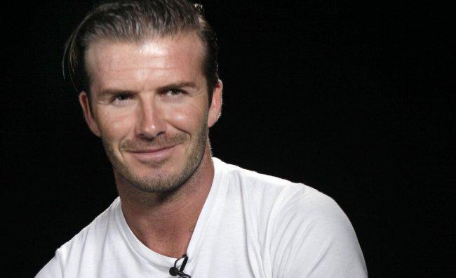Il futuro culinario di David Beckham