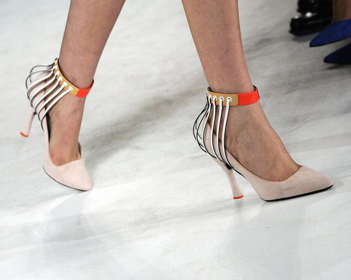 Le nuove forme delle scarpe bon ton