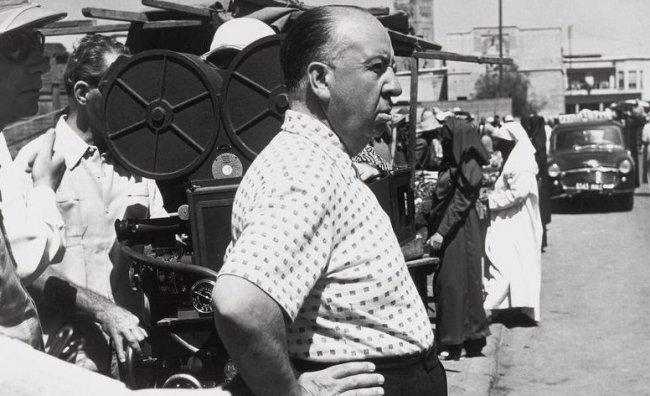 Hitchcock: 70 scatti ricordano il Maestro del Brivido