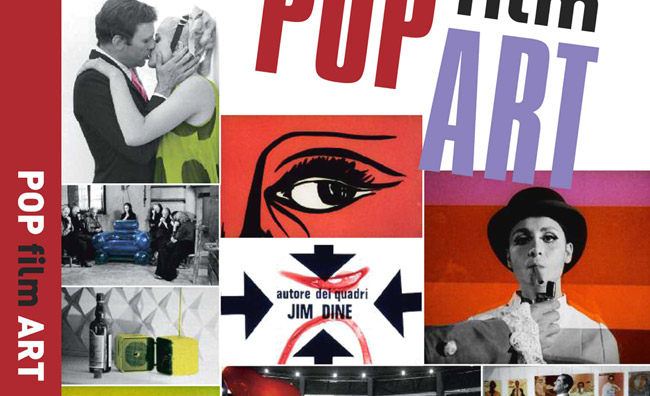 La pop art nei fotogrammi cinematografici