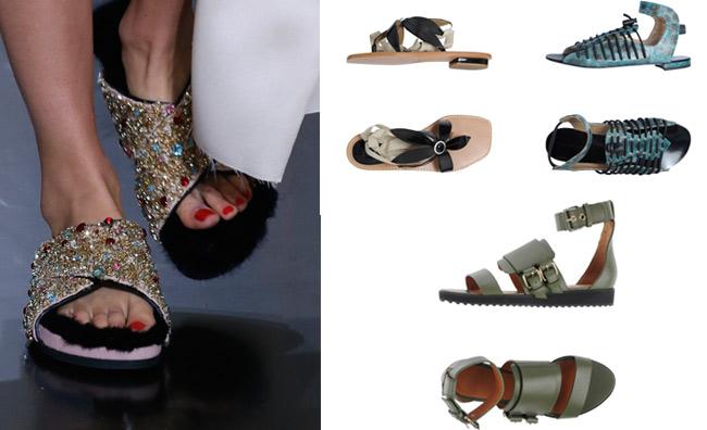 I sandali per un'estate chic