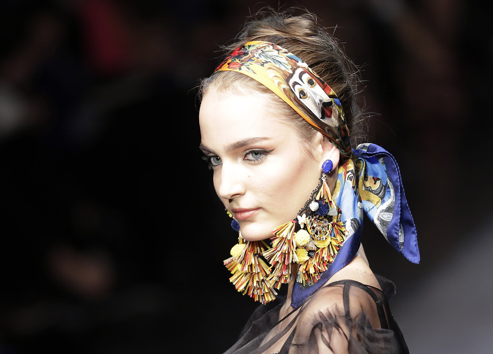 Foulard a fascia Dolce & Gabbana