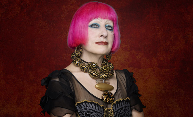 Il punk in passerella: Zandra Rhodes