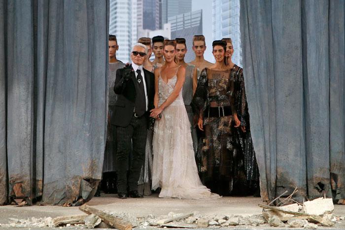 Il futuro post-apocalittico di Chanel