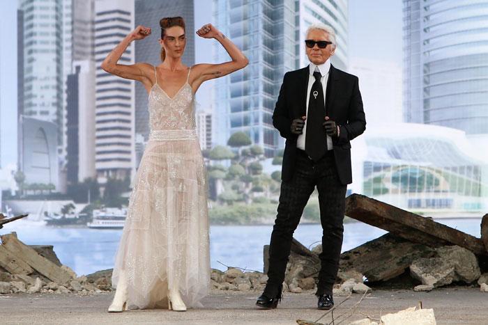 Abito sposa Chanel