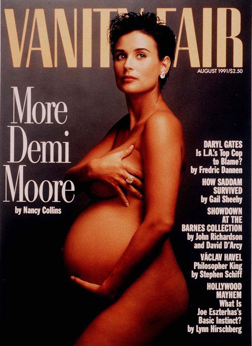 Demi Moore incinta