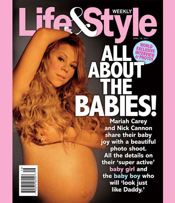 Mariah Carey incinta