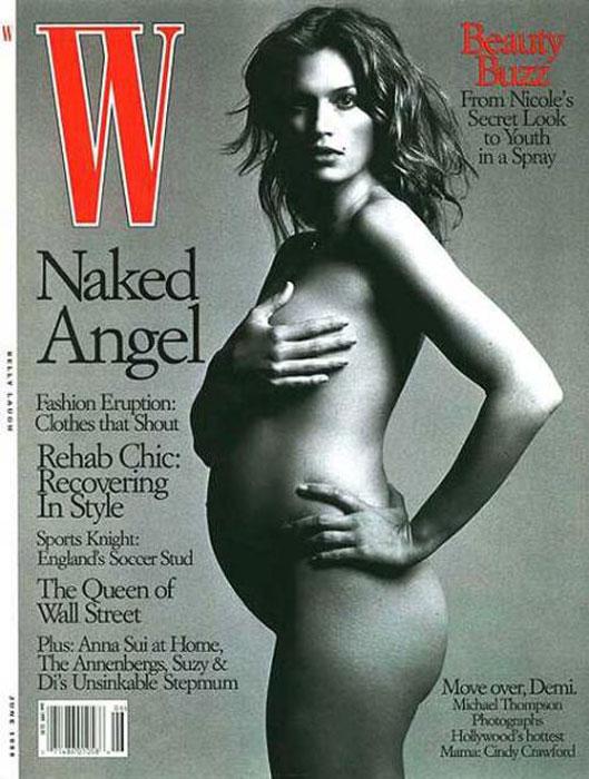 Cindy Crawford incinta