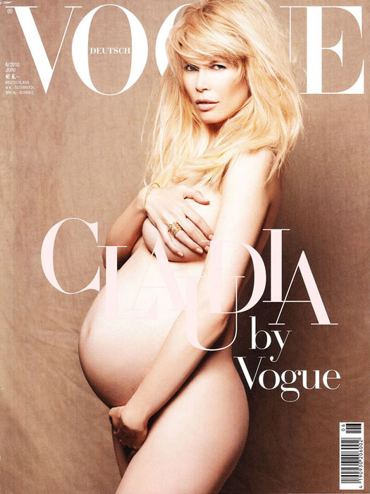 Claudia Schiffer incinta