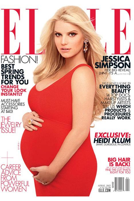 Jessica Simpson incinta
