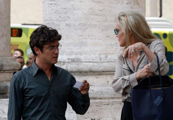 Sharon Stone e Riccardo Scamarcio