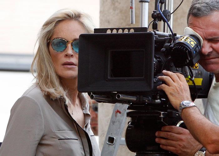Sharon Stone a Roma
