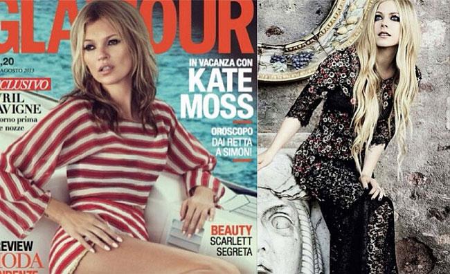 Kate e Avril insieme in Dolce & Gabbana
