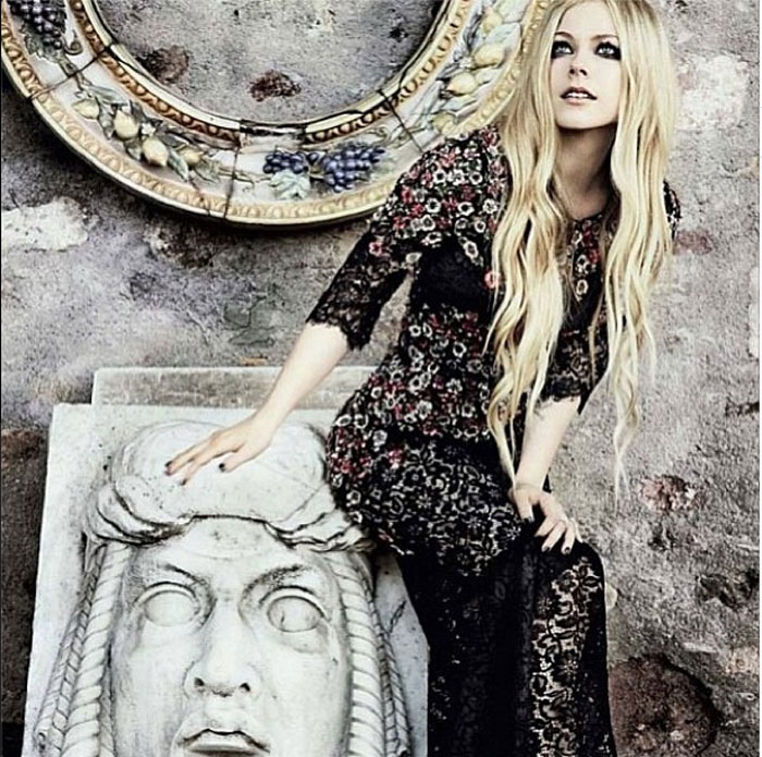 Avril Lavigne su Glamour