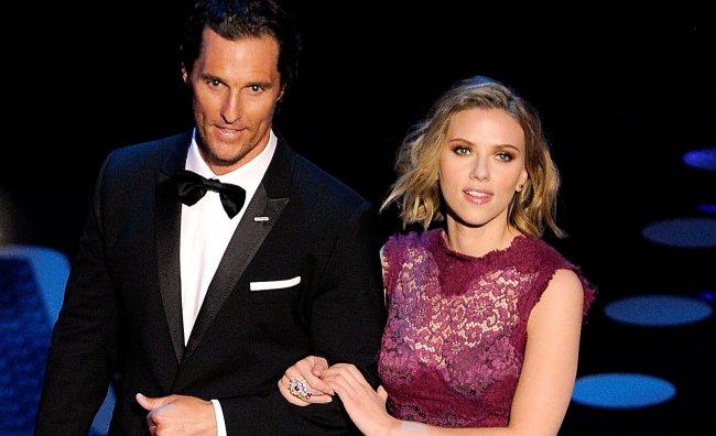 Scarlett Johansson e Matthew McConaughey nuova coppia D&G
