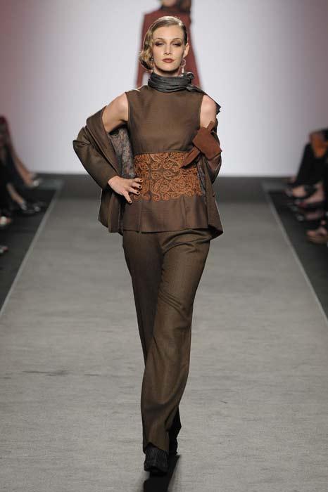 Pantaloni e top Curiel Couture