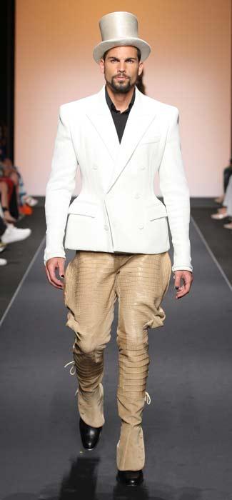 Pantaloni e giacca Jean Paul Gaultier