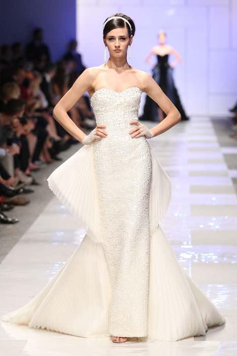 Abito bianco Sarli Couture