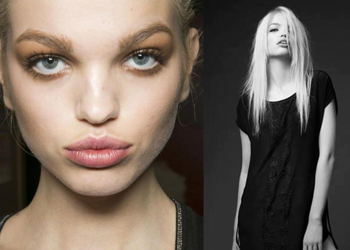 Daphne: le labbra carnose della moda