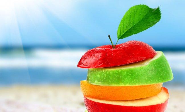 In spiaggia con gli snack light